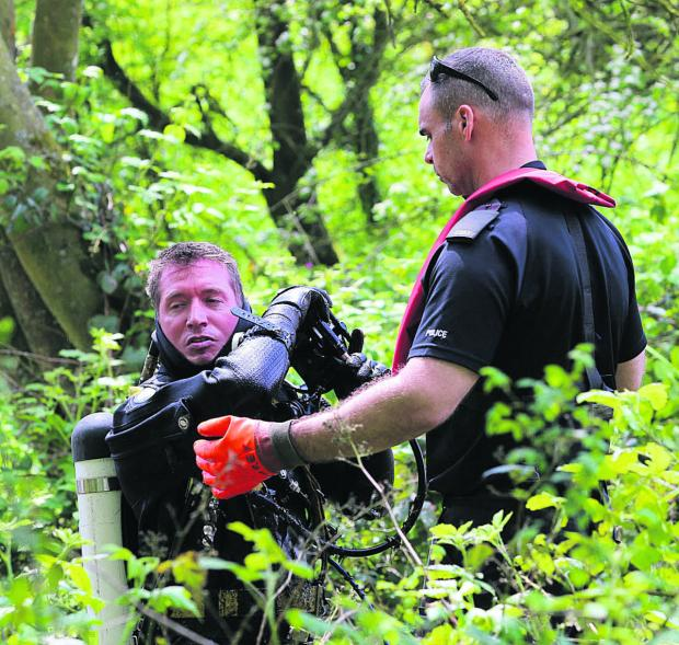This Is Wiltshire: Police searching land near Ramsbury