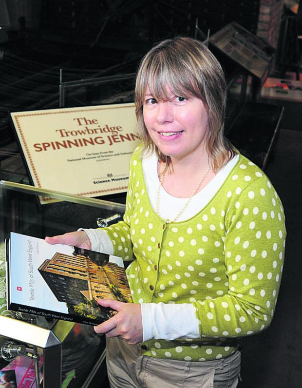 This Is Wiltshire: Trowbridge Museum curator Clare Lyall