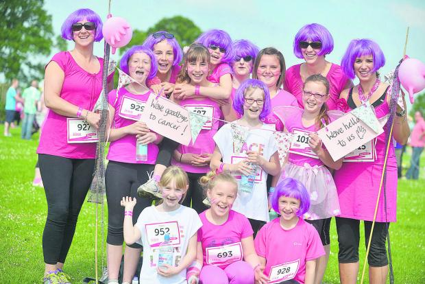 This Is Wiltshire: Sun shines on Race for Life