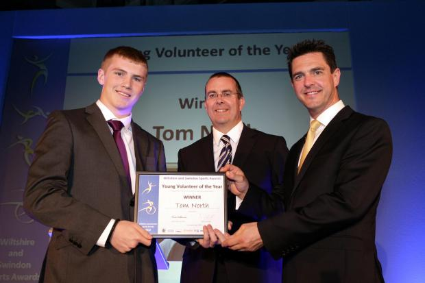 This Is Wiltshire: Last year's young volunteer of the year Tom North