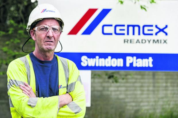This Is Wiltshire: CEMEX site manager Keith Vincent