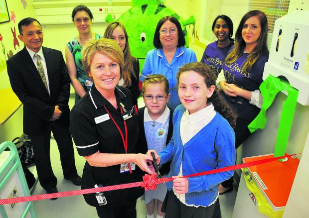 This Is Wiltshire: Children's A&E unit is officially opened