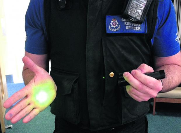 This Is Wiltshire: Laser pens can be dangerous: Police in Calne spoke to a teenager about their use yesterday