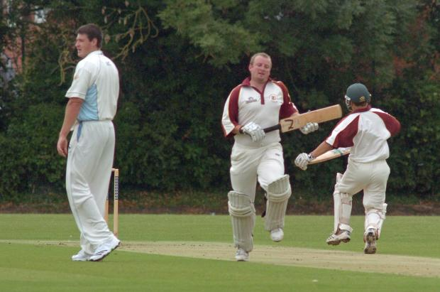 This Is Wiltshire: Biddestone skipper Jamie Mitchell (centre)