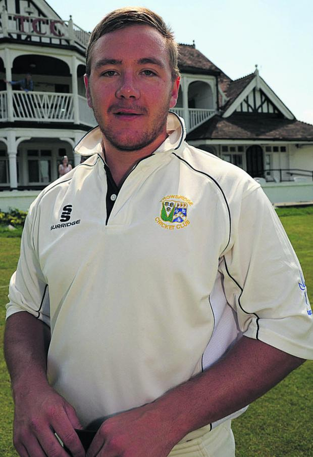 This Is Wiltshire: Trowbridge's Wes Marshall scored another century