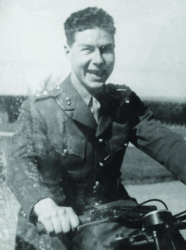 This Is Wiltshire: Peter Mitchell in his military days