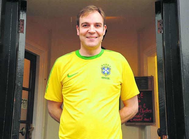 This Is Wiltshire: Justin Cook will be writing a World Cup blog for the Gazette & Herald