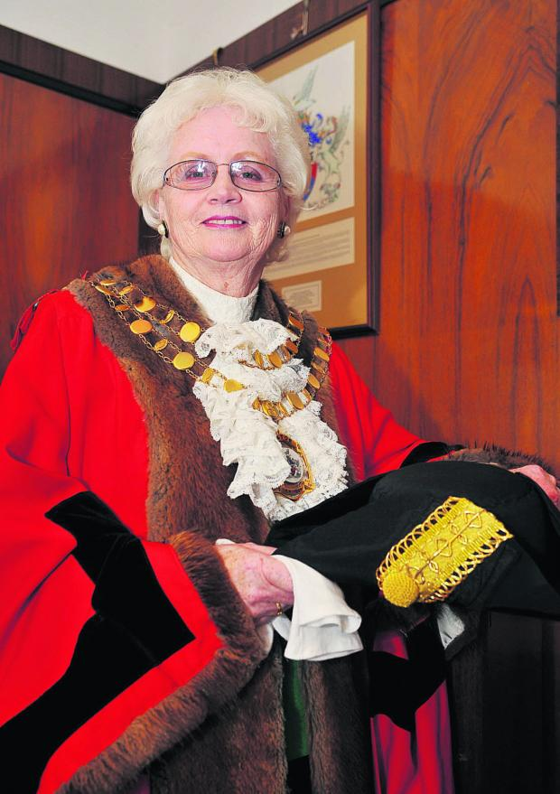 This Is Wiltshire: Mayor Teresa Page