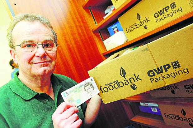This Is Wiltshire: David Hartridge from Swindon Foodbank