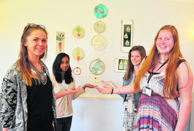 This Is Wiltshire: Lily Walker, Lenisha Rodrigues, Dayle Rushston and  Renate Bleek