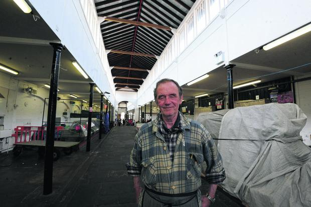 This Is Wiltshire: Shambles trader Bill Huntly is uncertain about a proposal to put new units into the market