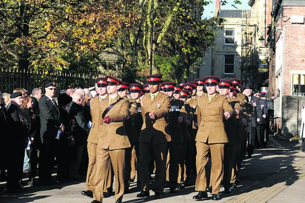This Is Wiltshire: Freedom of Trowbridge to be awarded to Royal Regiment of Artillery