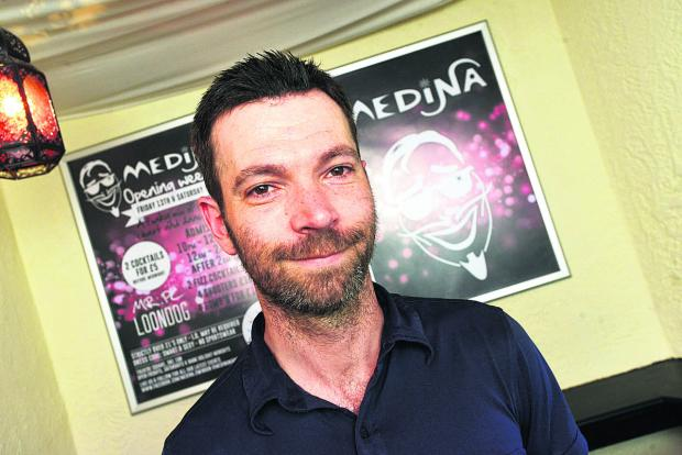 This Is Wiltshire: Manager Sam Fox has high hopes for new nightclub Medina, which is opening tomorrow