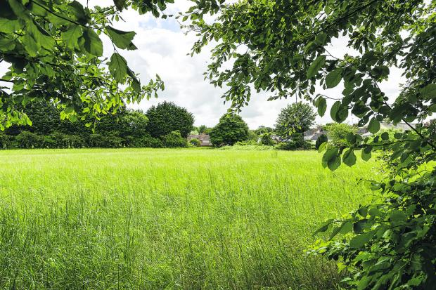 This Is Wiltshire: More than 300 residents objected to plans for 103 homes to be built to the east of Marlborough Road in Wroughton