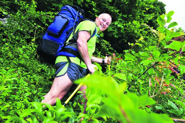 This Is Wiltshire: Al Sylvester is doing an unsupported trek from Land's End to John O'Groats for the 160 appeal, with a target of raising £20,000