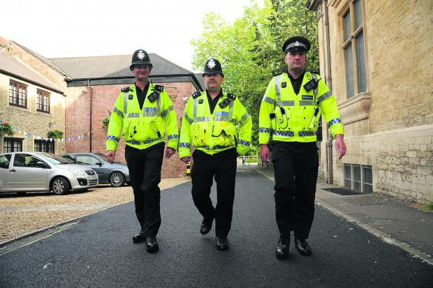 This Is Wiltshire: Wiltshire police are increasing patrols ahead of tonight's match