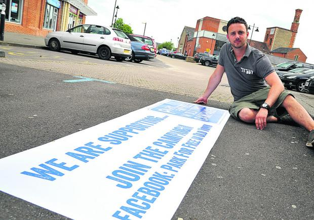 This Is Wiltshire: Kris Talikowski, who wants free parking in Old Town to help businesses
