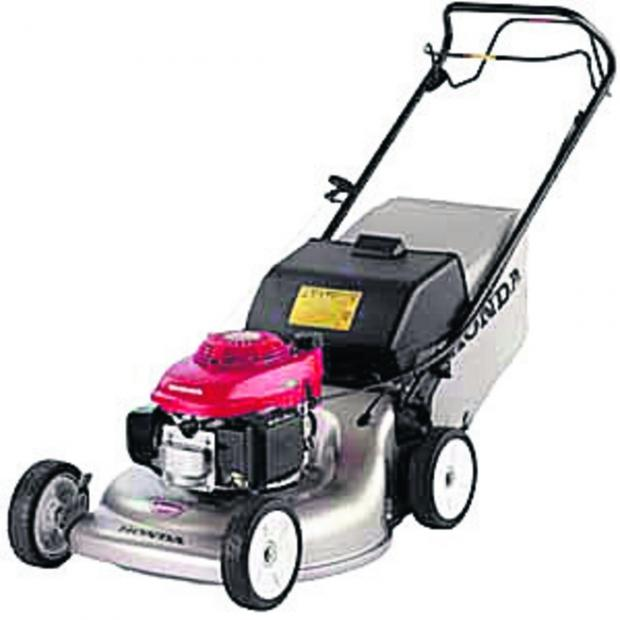 This Is Wiltshire: A Honda petrol mower similar to the one stolen