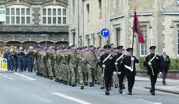 This Is Wiltshire: TA squadron to become part of Wessex Yeomanry