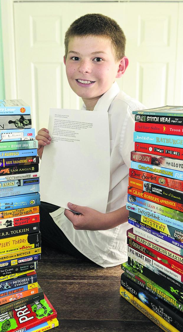 This Is Wiltshire: Bookworm Alexander Hewett