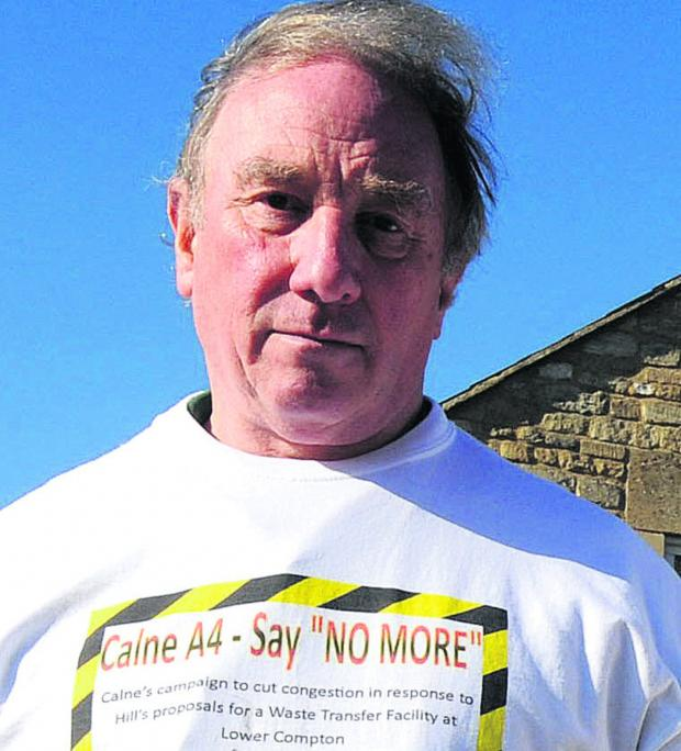 This Is Wiltshire: Alan Hill, councillor for Calne South and Cherhill