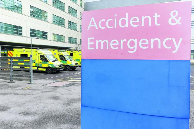 This Is Wiltshire: The accident and emergency department at the Great Western Hospital