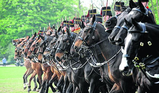 This Is Wiltshire: The Horse Artillery will be part of the parade