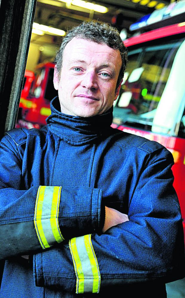 This Is Wiltshire: South west FBU secretary Brent Thorley