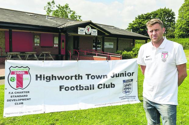 This Is Wiltshire: Mark Collett, Highworth Town Junior Football Club chairman
