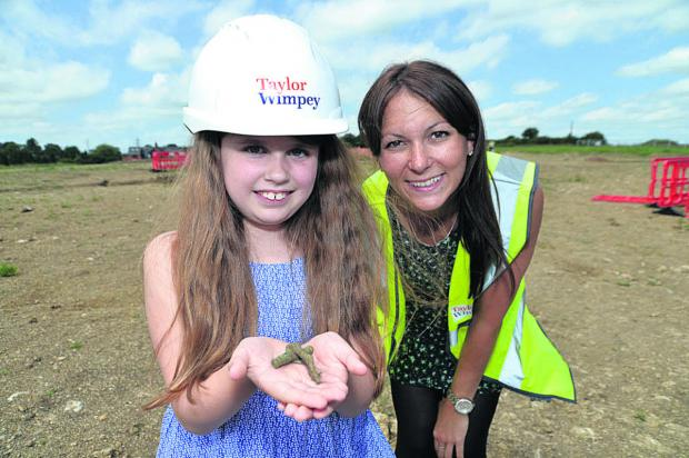 This Is Wiltshire: Amelia Belsher and Mary Beck, of Taylor Wimpey