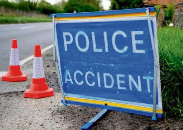 This Is Wiltshire: Road closed after man suffers serious head injuries in collision with car