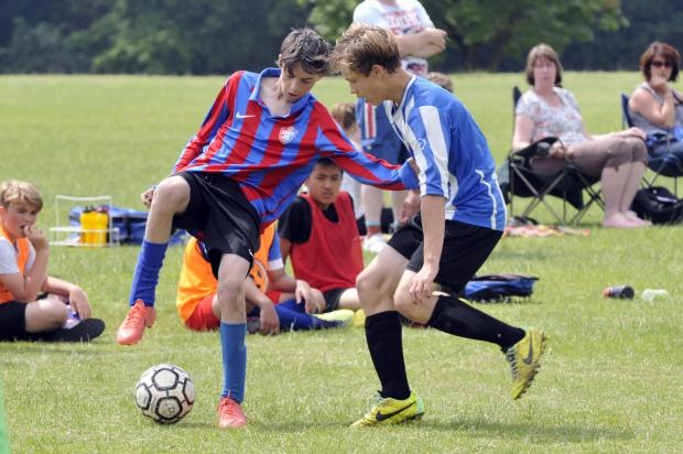 This Is Wiltshire: Action from Croft 3 v Shrivenham
