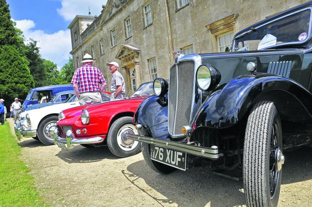 This Is Wiltshire: A classy setting for vintage car display