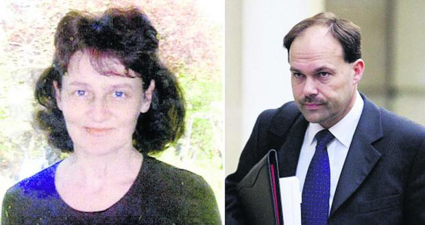 This Is Wiltshire: Linda Razzell, who vanished in 2002, and her husband, Glyn Razzell, who was convicted of her murder