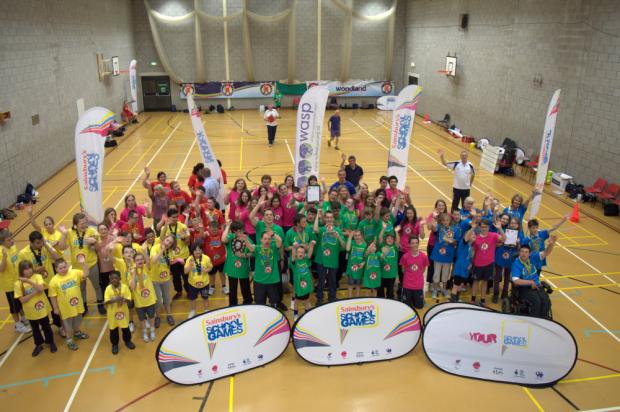 This Is Wiltshire: Participants at the Panathlon competition