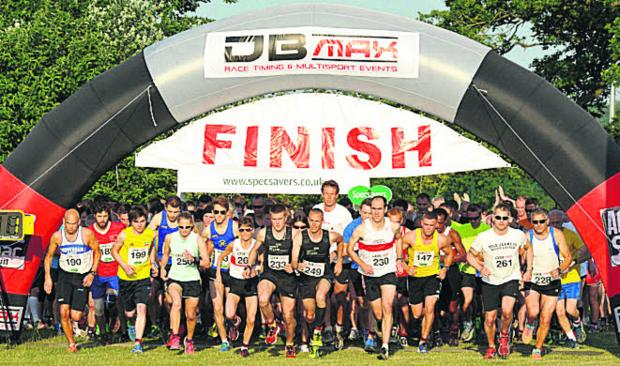 This Is Wiltshire: The Longest Day 10K race gets under way in Chippenham