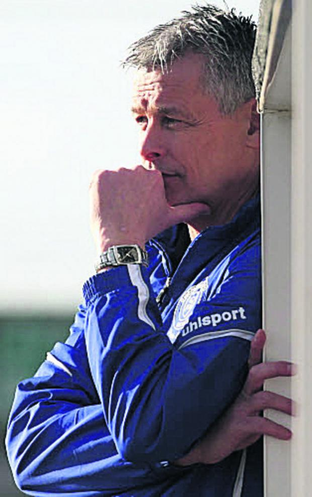 This Is Wiltshire: Chippenham Town boss Mark Collier