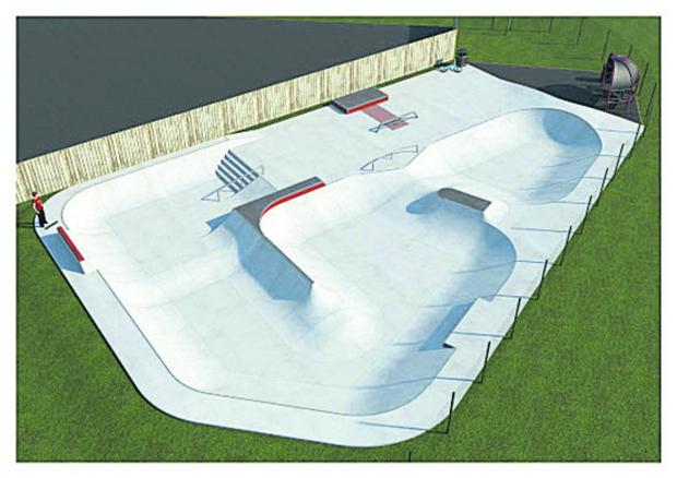 This Is Wiltshire: An artist's impression of the new skatepark