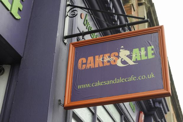 This Is Wiltshire: The closed Cakes & Ale café