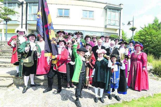 This Is Wiltshire: Calne town criers championship