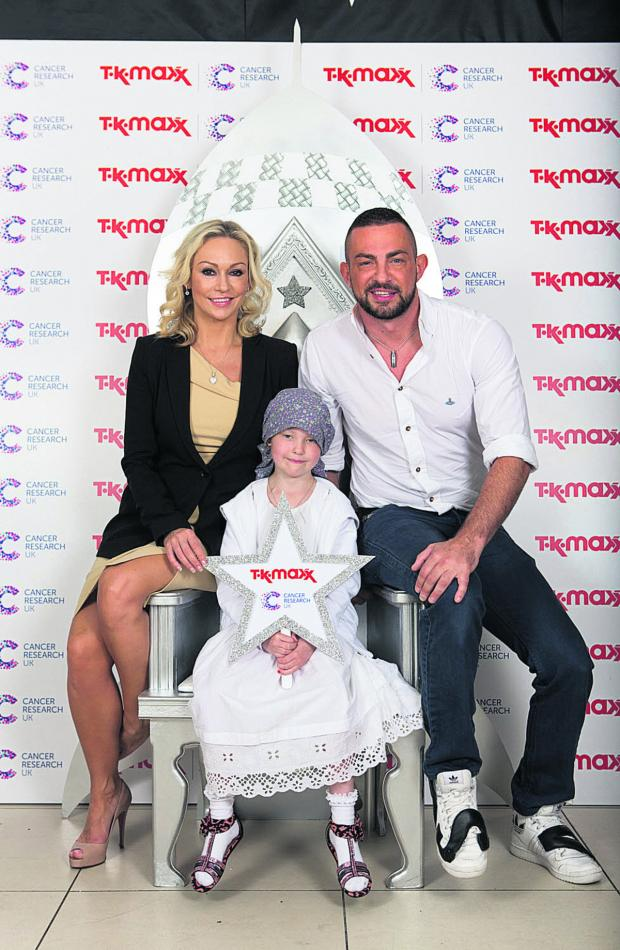 This Is Wiltshire: Madison Shurmer with Strictly Come Dancing's Kristina Rihanoff and Robin Windsor