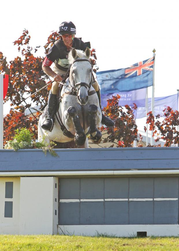 This Is Wiltshire: Andrew Nicholson and Avebury won a three-star class at Barbury last year