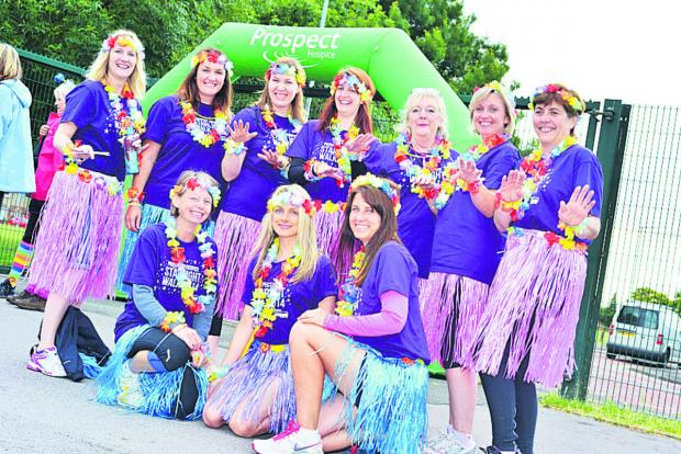 This Is Wiltshire: St John's Marlborough Hawaii themed team