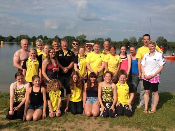 This Is Wiltshire: Swindon Dolphin's open water swimming team