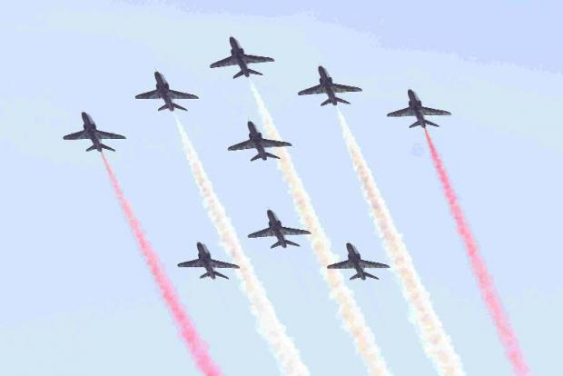 This Is Wiltshire: The Red Arrows are celebrating their 50th anniversary year.