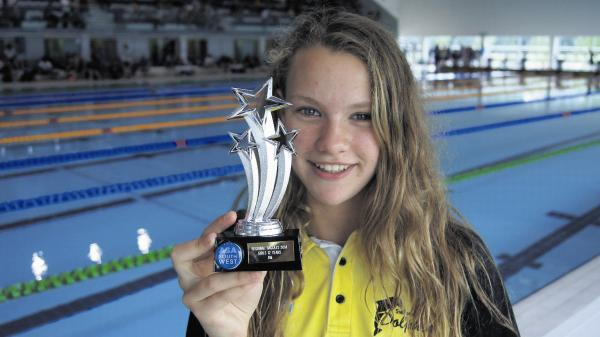 This Is Wiltshire: Olivia Flack, who finished eighth in the overall awards on BAGCAT points