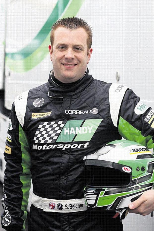This Is Wiltshire: Swindon BTCC driver Simon Belcher