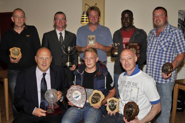 This Is Wiltshire: Award winners at the Trowbridge & District Presentation evening