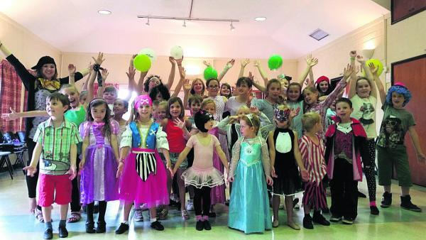 This Is Wiltshire: The Stagecoach Dress Up and Dance event raised £140 for Macmillan Cancer Support