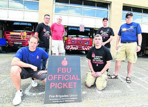 This Is Wiltshire: Chippenham fire crews striking in June